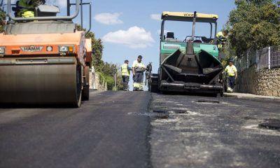 reparación del pavimento de la Plaza Mayor de Pozuelo
