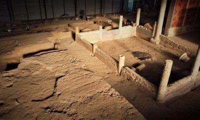 restauración de la Casa de los Grifos de Complutum de Alcalá