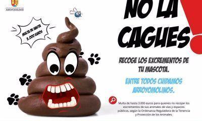 Arroyomolinos campaña excrementos