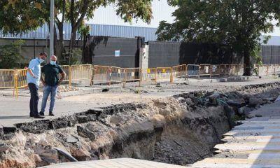 socavón Llanos de Jerez Coslada