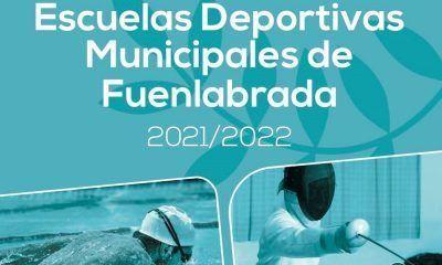 Cartel de la nueva oferta de escuelas deportivas municipales de Fuenlabrada