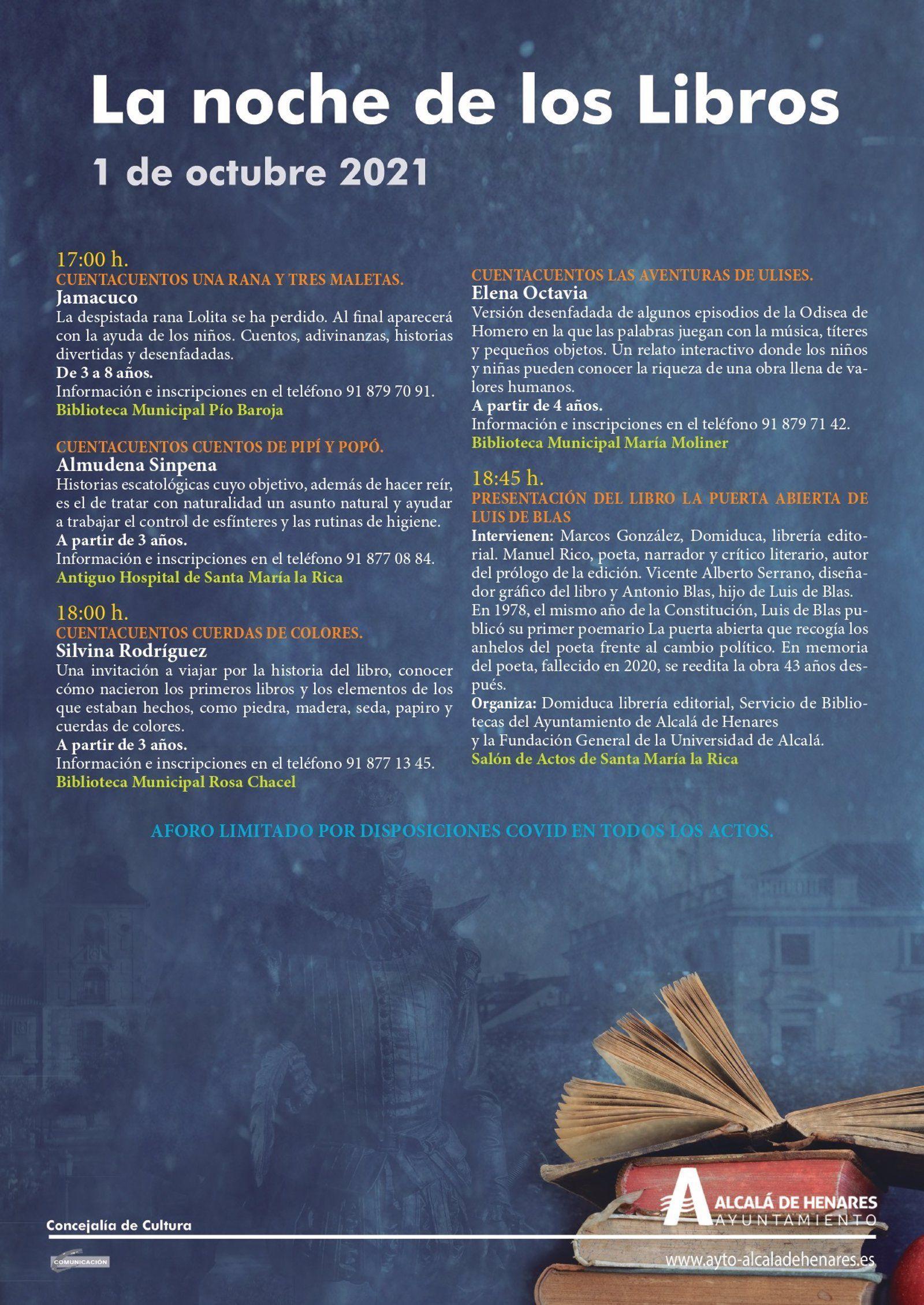 Noche de los Libros Alcalá