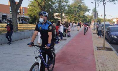 camino escolar en bici Coslada