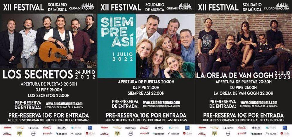 Festival de música Ciudad de la Raqueta