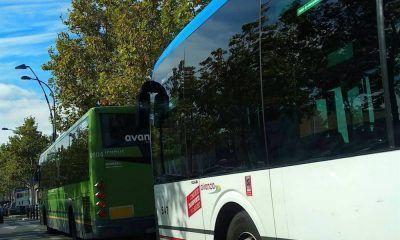 Getafe autobuses carrito de la compra