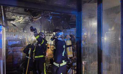incendio restaurante las Rozas