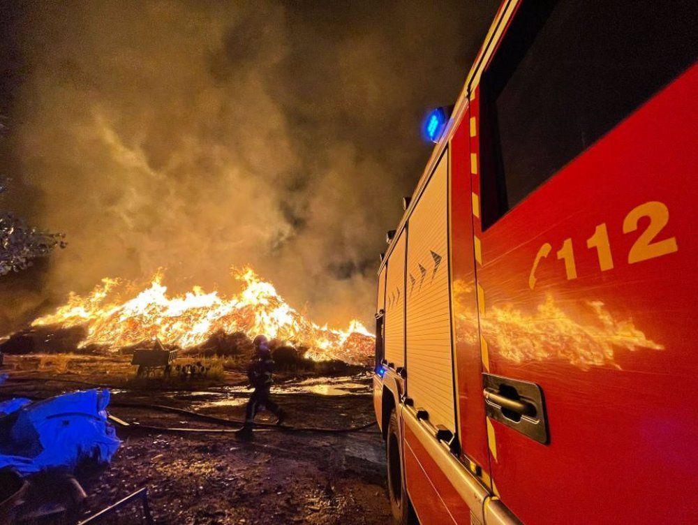 rayo incendio fábrica Paracuellos
