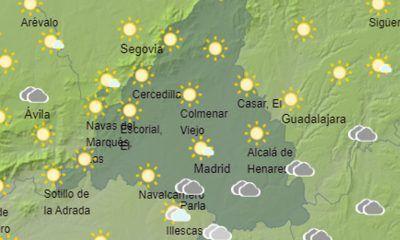 el tiempo viernes temperaturas en descenso