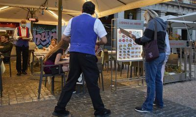 paro bajó en Madrid
