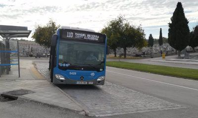 EMT autobuses ocho líneas