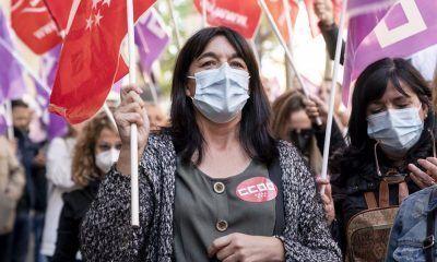limpieza de hospitales protestan ante sanidad