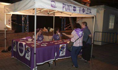 Punto violeta Leganés