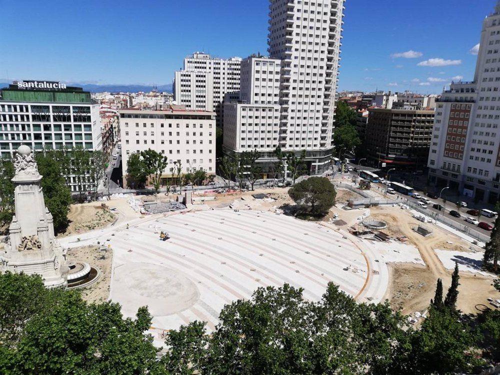 hallazgos arqueológicos Plaza de España