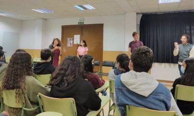 alumnos de Parla Teatro que cura
