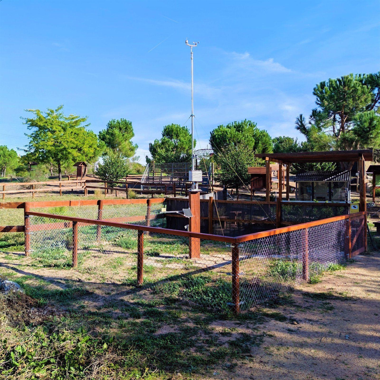 Pozuelo plan piloto estación meteorológica