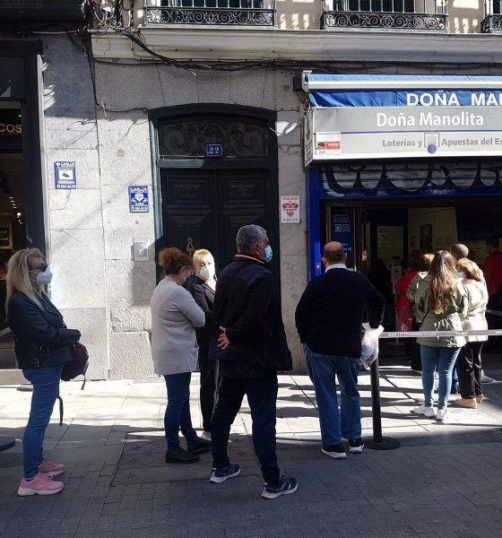 Doña Manolita lotería de Navidad